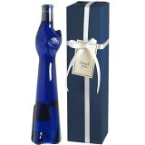 【送料・ラッピング込】 <青い猫のボトル> ラインヘッセン・リースリング Q.b.A. ネコボトル ギフト(白1本)  【あす楽対応_関東】 ( ブルー 青猫 ) ワイン ギフト