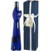 【送料・ラッピング込】 <青い猫のボトル> ツェラー・シュワルツ・カッツ ネコボトル ギフト(白1本)  【あす楽対応_関東】 ( ブルー 青猫 ) ワイン ギフト 御中元