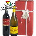 ワイン ギフト 【送料・ラッピング込】 ゴルフ好きな方へのギフトに!アーノルド・パーマー カリフォルニアワインギフト(赤1、白1)  【あす楽対応_関東】【smtb-T】 お歳暮 クリスマス