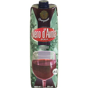 ★便利でエコな1L入りパックワイン!<ネロ・ダーヴォラ> クアルジェンタン テトラ・プリズマ...