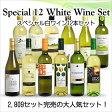 【送料無料】 <第38弾> スペシャル白ワイン12本セット(白12本) ※同梱不可【あす楽対応_関東】