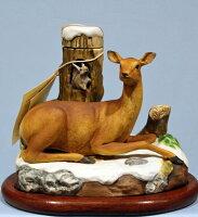 NIKKA ニッカ 余市 手作り・北の動物たち 蝦夷の仲間たちエゾシカとエゾリス 600ml アルコール43% 限定品 フォーチュン80クラス