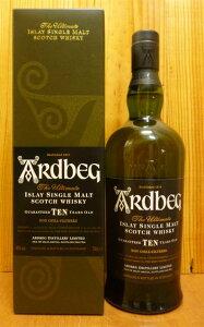 アードベック[10]年・アイラ・シングル・モルト・スコッチ・ウイスキー・700ml・46%Ardbeg Sin...
