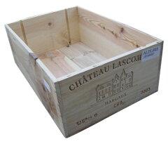 【送料無料でお届け】【商品との同梱可能】ワイン木箱 12本用