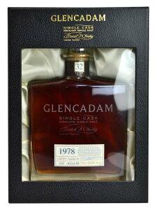 【豪華箱入】グレンカダム・シングル・カスク[32]年もの・[1978]年・ハイランド・シングル・モルト・スコッチ・ウイスキー・リミテッド・エディション・シェリーカスク・全生産本数405本のみ・カスクナンバー2332・仕込み日1978年4月6日・瓶詰め日2010年9月