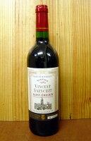 ヴァンサン・サンクリ[1983]年古酒・AOCサンテミリオン・ロットナンバー入りVINCENT SAINCRIT [1983] AOC Saint-Emilionサンテミリオンの25年目を迎える人気オールドヴィンテージワイン!メルロー90%、フラン10%の手摘み完熟ブドウをオーク樽で24ヶ月熟成!その後ステンレス