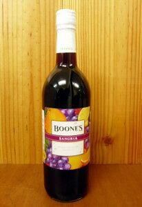 ブーンズ・サングリア・ フルーツワイン・スクリューキャップ・アルコール