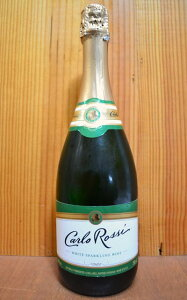 【777均】 】カルロ・ロッシ・スパークリング・ホワイト・スパークリング・ワイン・カリフォルニア・やや辛口・750ml・11%CARLO ROSSI SPARKLING WHITE SPARKLING WINE 750ML 11%