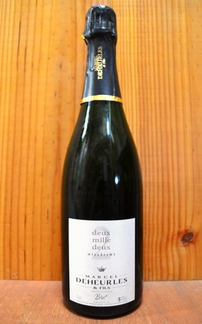 ワイン, スパークリングワイン・シャンパン  2002 R.M AOC 750ml ()Marcel Deheurles Champagne Millesime 2002 R.M. AOC Millesime Champagne