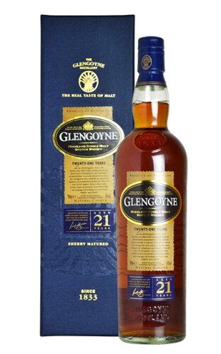 グレンゴイン[21]年・ハイランド・シングル・モルト・スコッチ・ウイスキー・オフィシャル...