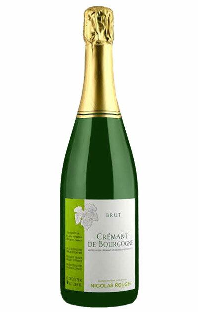 ワイン, スパークリングワイン・シャンパン  N.V 750mlCremant de Bourgogne Brut N.V Nicolas Rouget AOC Cremant de Bourgogne