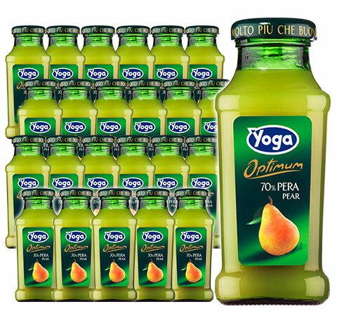 ヨーガ スッコ ディ ペーラ(洋ナシ)200ml×24本 (フルーツジュース) ヨーガ各種2ケースまで同梱可能、その他商品とは同梱不可 ノンアル ノンアルコール