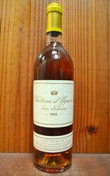 シャトー ディケム (イケム) 1988 白ワイン 極甘口 750mlChateau d'Yquem [1988] AOC Sauternes Grand Premiers Cru (Premier Grand Cru Classe en 1855)