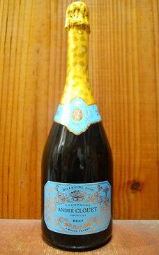 アンドレ クルエ シャンパーニュ ブリュット ミレジム 2008 正規 AOCミレジム シャンパーニュ フランス 辛口 白 泡 シャンパン 750ml (アンドレ・クルエ・シャンパーニュ)ANDRE CLOUET Champagne Brut Millesime [2008]