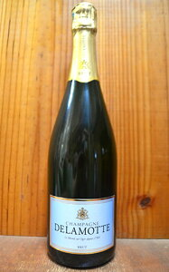 ドゥラモット シャンパーニュ ブリュット(ドゥラモット社) ル メニル シュール オジェ AOCシャンパーニュDelamotte Champagne Brut (Le Mesnil sur Oger)