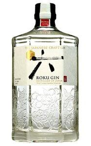 サントリー ジャパニーズ クラフト ジン 六 (ROKU) 700ml 47% 正規品 国産ジン【wineuki_ROK】