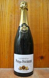 【6本以上ご購入で送料・代引無料】フィリップ フーリエ シャンパーニュ ブリュット セレクション ブラン ド ノワール 泡 白 辛口 シャンパン 750ml (フィリップ・フーリエ・シャンパーニュ)Philippe Fourrier Champagne Brut Selection Blanc de Noir