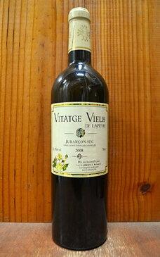 ジュランソン セック クロ ラぺール ヴィタージュ ヴィエイユ ド ラペール 2008 クロ ラぺール社 フランス シュッド ウエスト AOCジュランソン セック 自然派 ワイン 白ワイン 辛口 750ml (ジュランソン・セック)Jurancon Sec Vitatge Vielh de Lapeyre [2008]