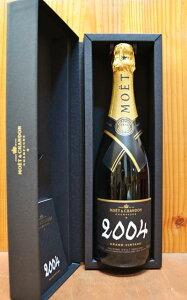 【箱入】モエ・エ・シャンドン・グラン・ヴィンテージ[2004]年・正規代理店品 Moet & Chandon Grand Vintage [2004] AOC Vintage Champagne