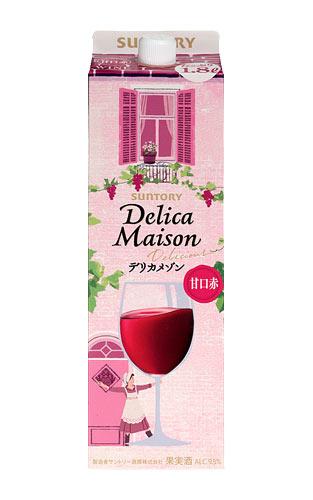油, オリーブオイル 1.8LSUNTORY Delica Maison Delicious red 1.8LwineukiDES