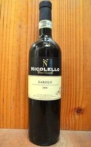 バローロ 2008 カーサ ヴィニコラ ニコレッロ DOCG バローロ イタリア ピエモンテ 赤ワイン 辛口 フルボディ 750mlBarolo [2008] Casa Vinicola NICOLELLO DOCG Barolo