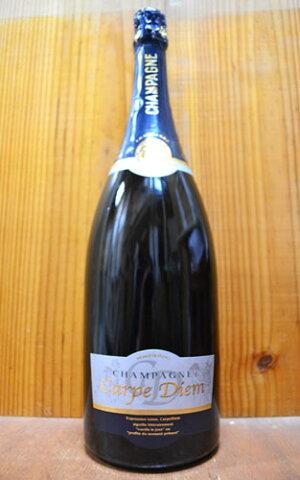大型マグナムボトル グロンニェ シャンパーニュ カルプ ディエム ブリュット マグナム 1500ml 1.5L シャンパン 白 泡 フランス (グロンニェ・シャンパーニュ・カルプ・ディエム)Grongnet Champagne Carpe Diem Brut R.M. M.G
