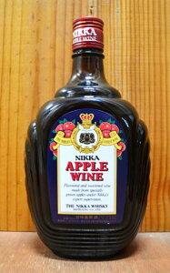 """ニッカ・アップルワイン・甘味果実酒・ニッカウイスキーNIKKA""""APPLE wine""""THE …"""