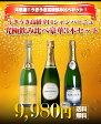 【送料無料】大感謝!うきうき高級辛口シャンパーニュ究極飲み比べ豪華3本セット!白 泡 シャンパン シャンパーニュ スパークリング 750ml×3UKIUKI Special Champagne Set