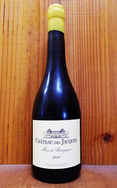 ワイン, 赤ワイン  2000 ( ) AOC Marc de Bourgogne 2000 Chateau des Jacques (Domaine Louis Jadot) AOC Marc de Bourgogne