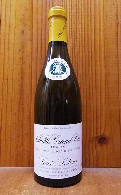 ワイン, 白ワイン  2009 AOC Chablis Grand Cru Les Clos 2009 Louis Latour AOC Chablis Grand Cru