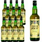 【送料無料・12本セット・正規品】インバーハウス・グリーンプレイド・700ml×12本・ケース[12本入り]・ブレンデッド・スコッチ・ウイスキー・700ml・40%