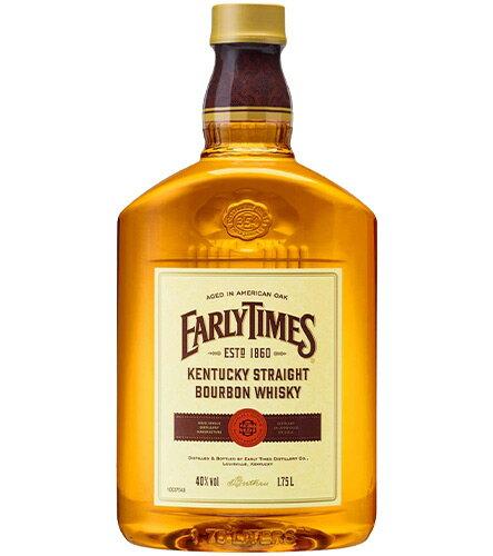 ウイスキー, ジャパニーズ・ウイスキー  1750ml 1750ml 40 EARLY TIMES YELLOW LABEL KENTUCKY BOURBON WHISKEY 1750ml 40