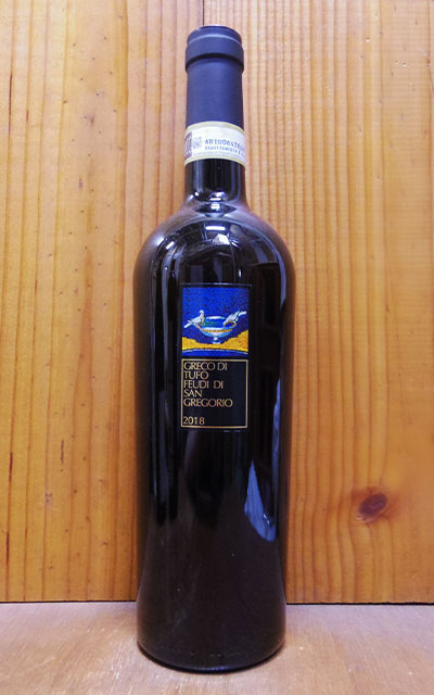 ワイン, 白ワイン  2018 DOCG 750mlFeudi di San Gregorio Greco di Tufo 2018 DOCG Greco di Tufo