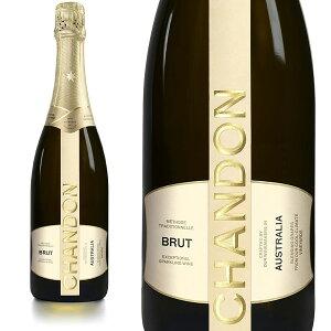 【送料無料】シャンドン ブリュット 白 泡 N.V 正規 箱なし 750ml シャンパン シャンパーニュ モエ エ シャンドンCHANDON Brut Methode Traditionelle