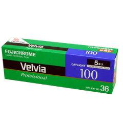 フジ Velvia 100 Professional 36EX 5P ベルビア 100 プロフェッショナル 36枚撮り 5本パック ...