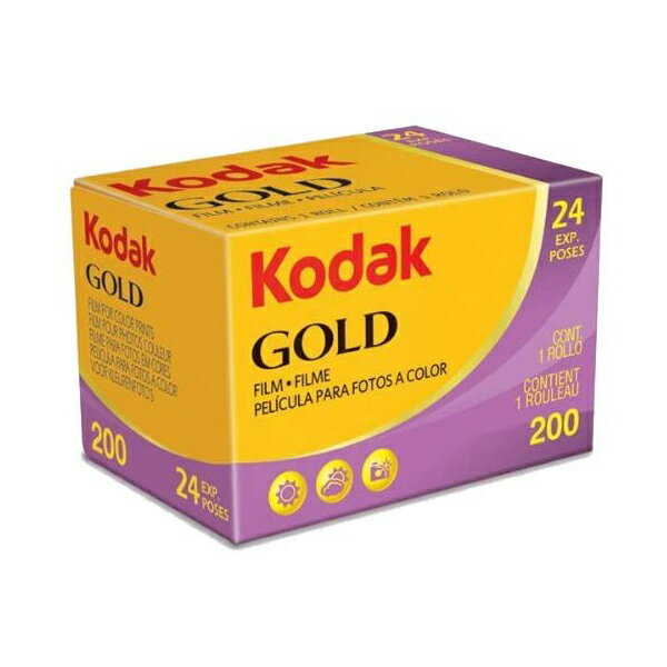 カメラ・ビデオカメラ・光学機器用アクセサリー, カメラ用フィルム Kodak GOLD 200 24EX 24