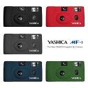 フィルムカメラ 本体 YASHICA MF-1 35mm ブラック レッド グレー ダークブルー アーミーグリーン ヤシカ アートカメラ トイカメラ おしゃれ かわいい かんたん 初心者 ハンドストラップ付 送料無料