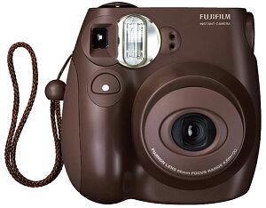 インスタントカメラ FUJI FILM instax mini7Sいま一番人気のチェキチョコ。チェキ7sチョコ。バ...