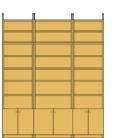 �ǎ��[ ������52.5cm ���s46x����226�`235x��150�`188cm