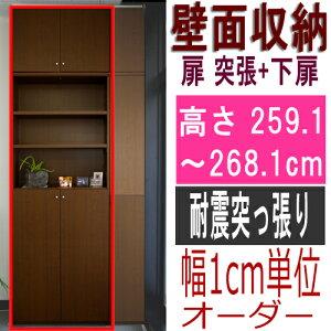 厚型扉付きオフィス壁収納商品画像
