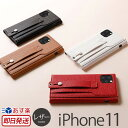 iPhone11 ケース レザー Deff clings Slim Hand Strap Case for iPhone 11 アイフォン11 iPhon……