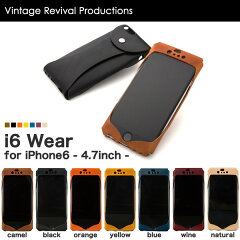 iPhone6 本革 レザー ケース Vintage Revival Production i6 Wear iPhone 6 アイフォン6 アイホ...