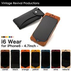 iPhone6 本革 レザー ケース Vintage Revival Production i6 Wear iPhone 6 アイフォン6 アイホ...