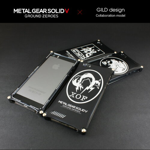 ギルドデザイン メタルギア ソリッド iPhone5s/5(アイフォン5s/5)用 アルミ ケース ...