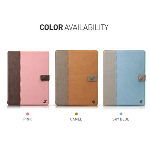 iPad4・新しいiPad (iPad3) 用 レザー ケース iPad2対応 Zenus Masstige E-Note Di...