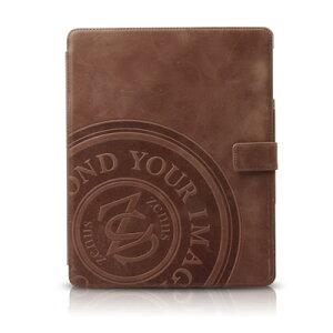 iPad4・新しいiPad (iPad3) 用の本革 レザー ケース。Zenus Prestige Vintage Folio W/Signage...
