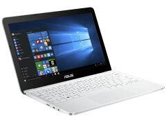 【代引き手数料無料】ASUS ノートパソコン EeeBook X205TA X205TA-WHITE10 [ホワイト]