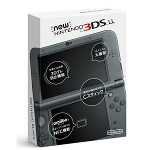 【代引き手数料無料】NINTENDO ニンテンドー3DS 本体 NEW 3DSLL/MB