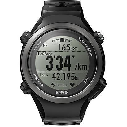 EPSON ユニセックス腕時計 WristableGPS SF-810B