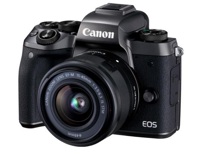 CANON デジタル一眼カメラ EOS M5 EF-M15-45 IS STM LkitEOS M5 EF-M15-45 IS STM レンズキット